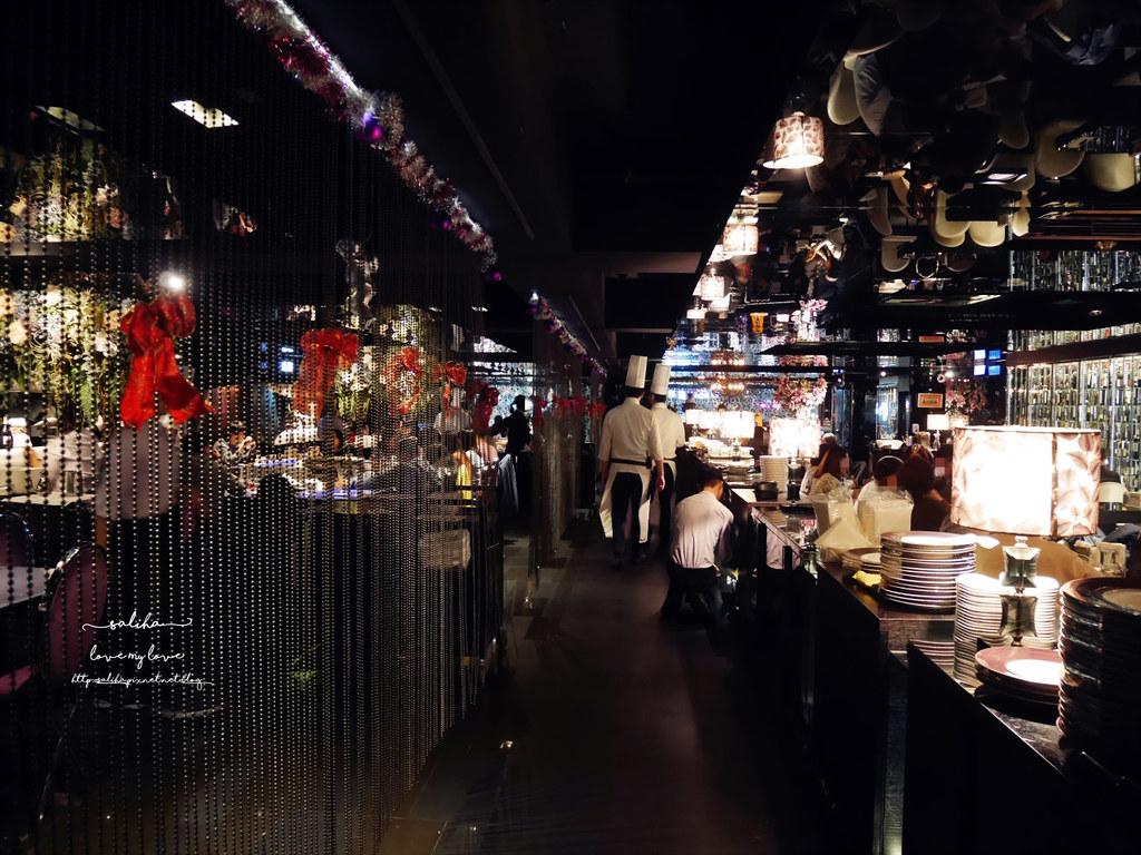 台北大安區忠孝敦化附近Mosun墨賞新鐵板料理餐廳 約會推薦浪漫情人節生日壽星 (2)
