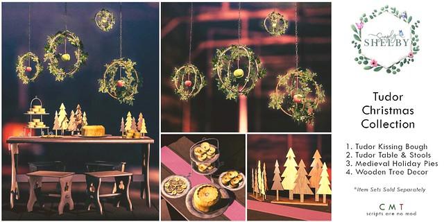 Simply Shelby Tudor Christmas Collection ad