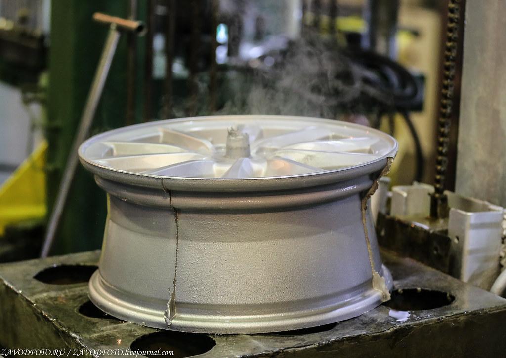 Как делают литые алюминиевые диски на заводе ЛМЗ «СКАД» IMG_5374