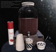 Cocoa dispenser by ChicChica @ Anthem
