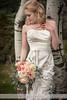 Bride Against an Aspen