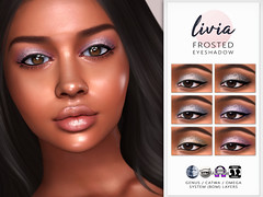 LIVIA // Frosted Eyeshadow @ TMR