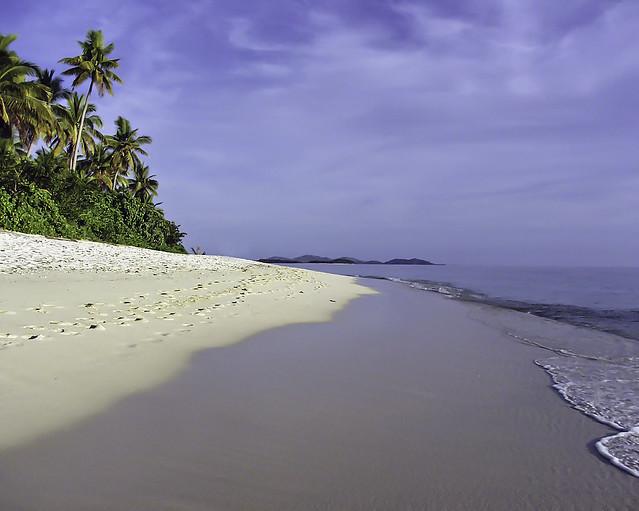 Beach side paradise in the tropics