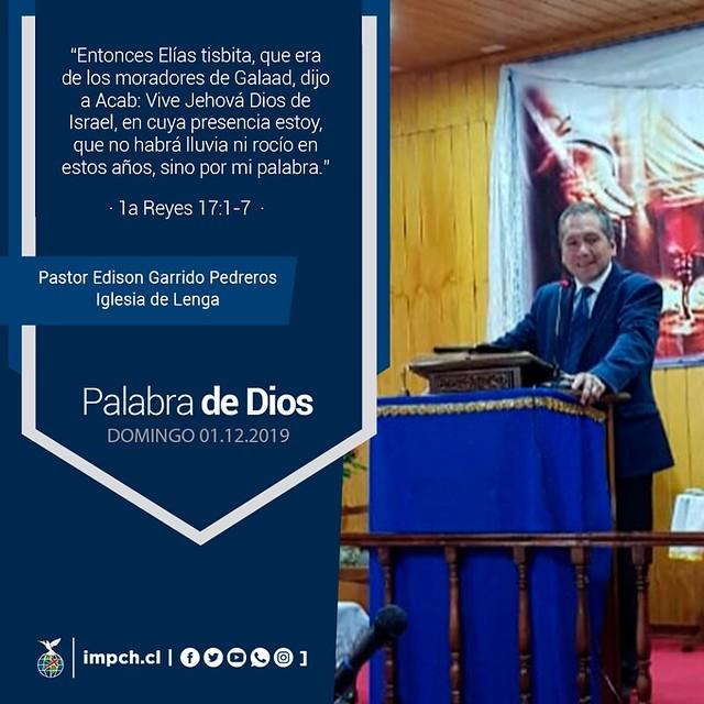 Palabra de Dios I Domingo 01 de diciembre2019