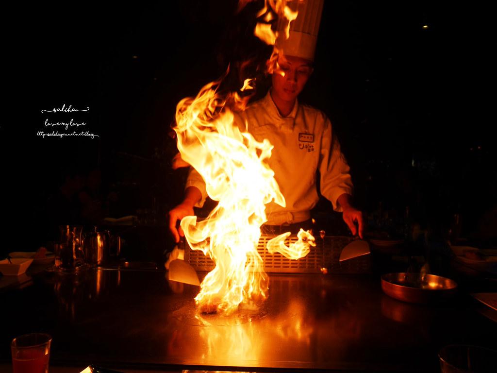 台北東區Mosun墨賞新鐵板料理餐廳好吃牛排高級餐廳鐵板燒 (2)