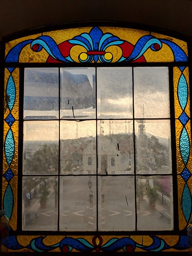 ecuador guayaquil stainedglass beveled window church lighthouse square sunset view glass historic museum fort southamerica latinamerica cloudy dirty explore inexplore 414