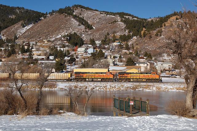 BNSF 6391 Palmer Lake 1 Dec 19