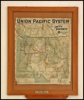 Map ( 1926 ) pacific Northwest Rail System > Union Pacific