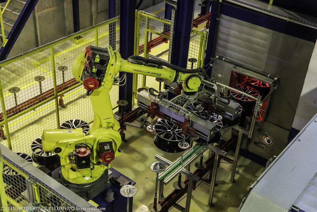 Как делают литые алюминиевые диски на заводе ЛМЗ «СКАД» 999A8939