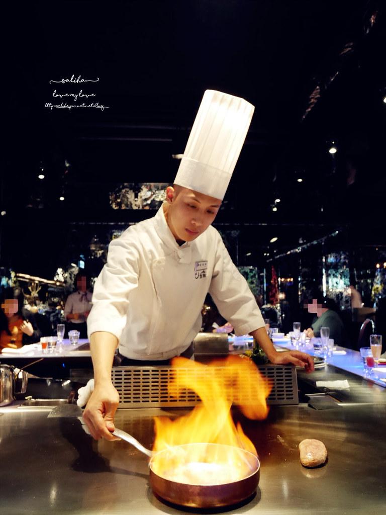 台北東區Mosun墨賞新鐵板料理餐廳好吃牛排高級餐廳鐵板燒 (3)