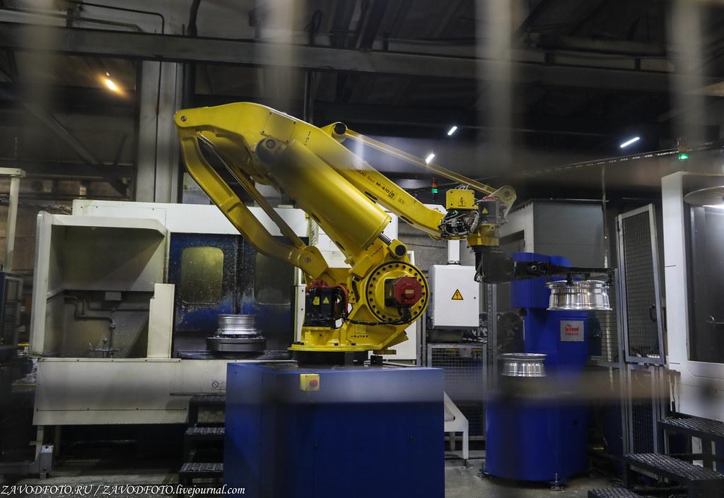 Как делают литые алюминиевые диски на заводе ЛМЗ «СКАД» 999A8245