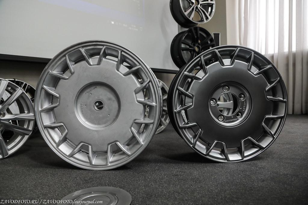 Как делают литые алюминиевые диски на заводе ЛМЗ «СКАД» 999A8200