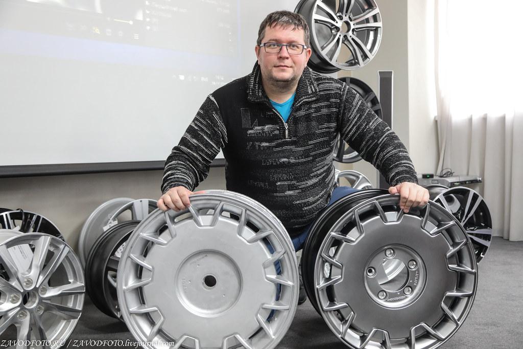 Как делают литые алюминиевые диски на заводе ЛМЗ «СКАД» 999A8186