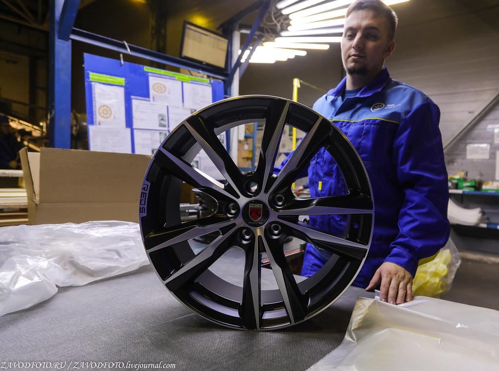 Как делают литые алюминиевые диски на заводе ЛМЗ «СКАД» 999A8143
