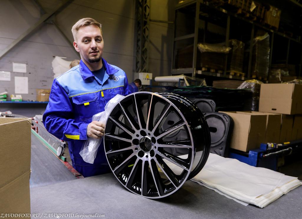 Как делают литые алюминиевые диски на заводе ЛМЗ «СКАД» 999A8084