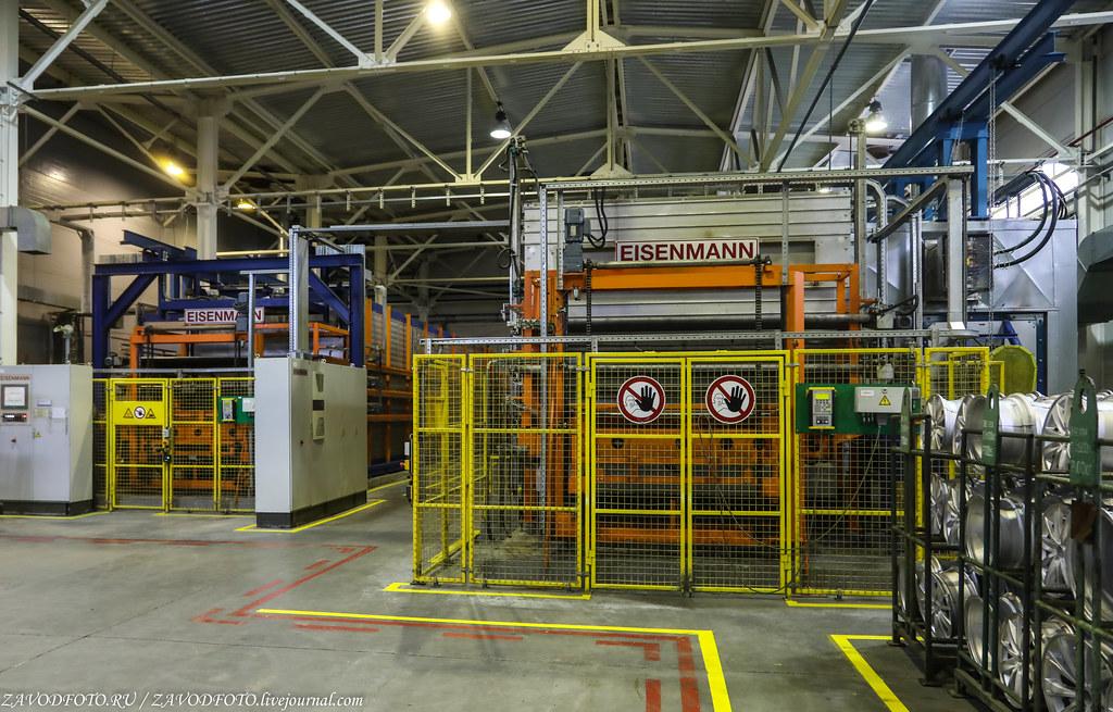 Как делают литые алюминиевые диски на заводе ЛМЗ «СКАД» 999A8076