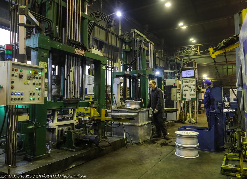 Как делают литые алюминиевые диски на заводе ЛМЗ «СКАД» 999A8040