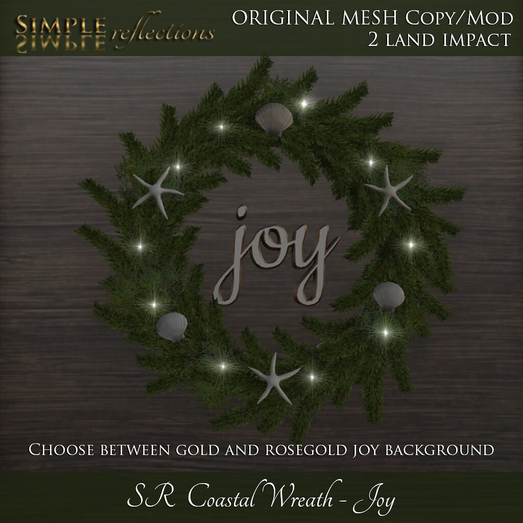 SR Coastal Wreath – Joy
