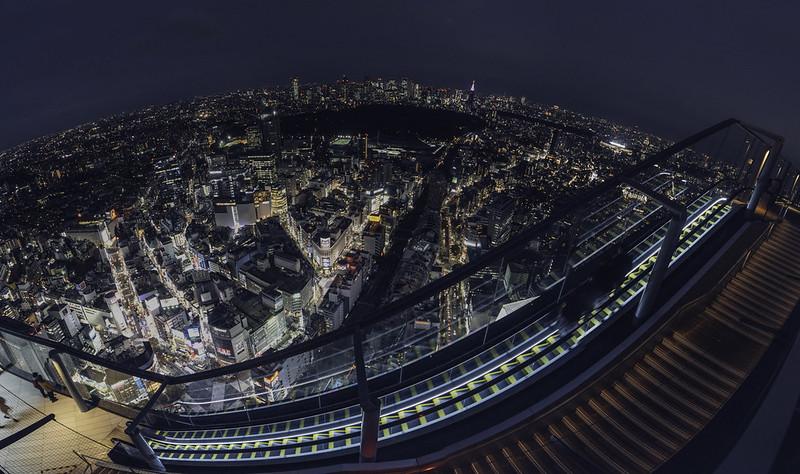 SHIBUYA SKY全景圖|Shibuya scramble square
