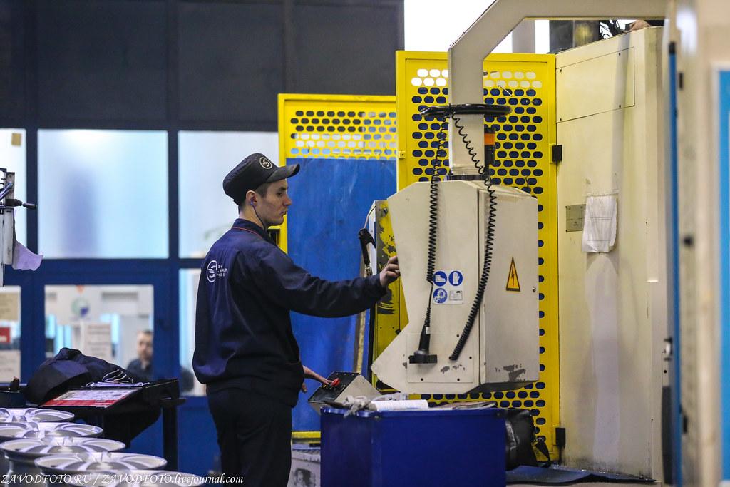 Как делают литые алюминиевые диски на заводе ЛМЗ «СКАД» IMG_5730