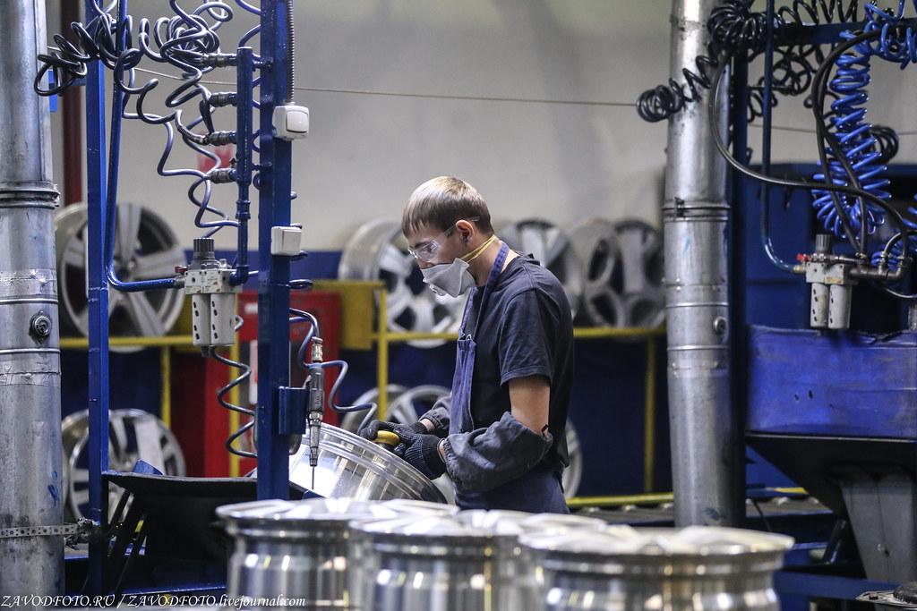 Как делают литые алюминиевые диски на заводе ЛМЗ «СКАД» IMG_5604