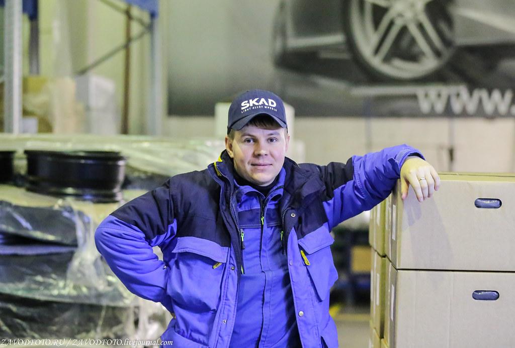 Как делают литые алюминиевые диски на заводе ЛМЗ «СКАД» IMG_5478