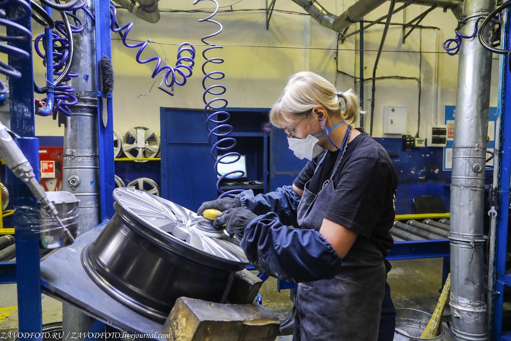 Как делают литые алюминиевые диски на заводе ЛМЗ «СКАД» 999A8654