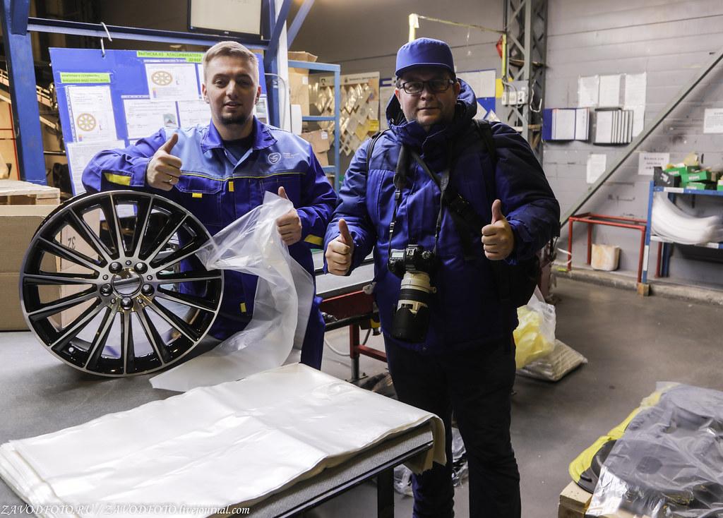 Как делают литые алюминиевые диски на заводе ЛМЗ «СКАД» 999A8097