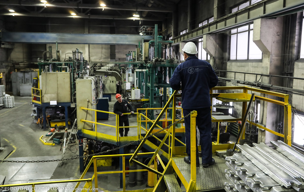 Как делают литые алюминиевые диски на заводе ЛМЗ «СКАД» 999A7680