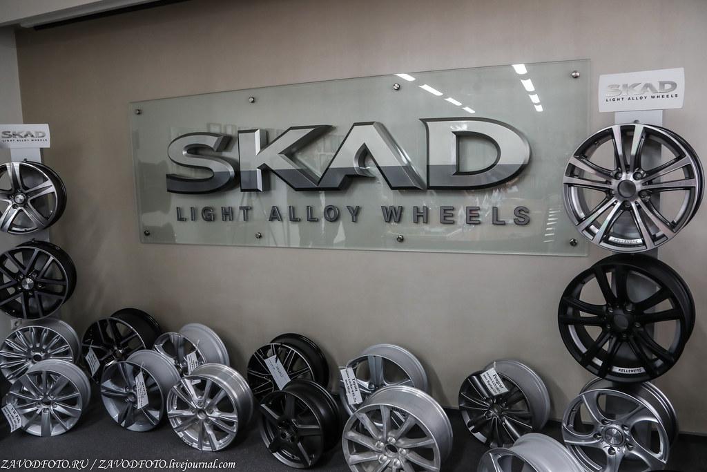 Как делают литые алюминиевые диски на заводе ЛМЗ «СКАД» 999A7393