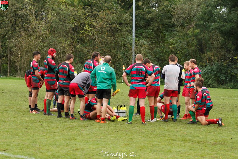 Senioren1 D2 Rugby Mechelen vs Buc