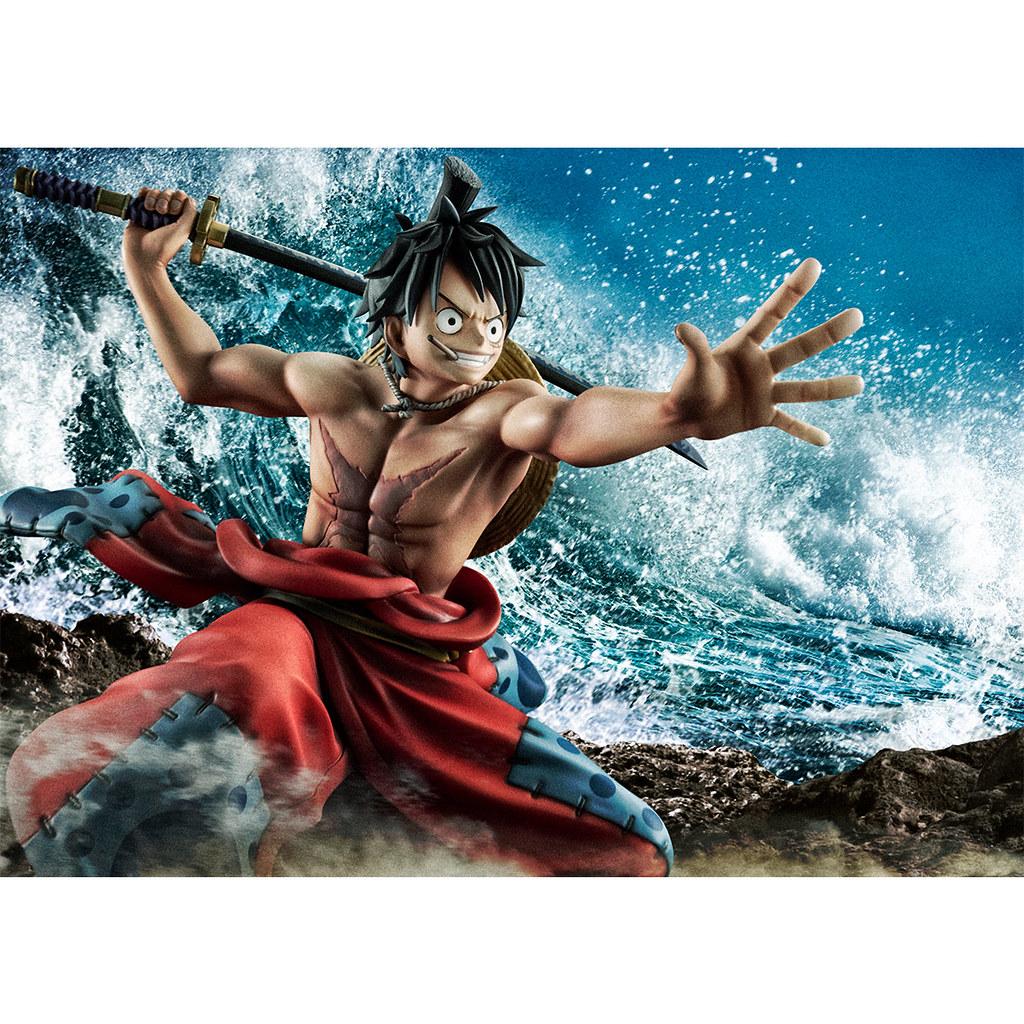 "二代鬼徹現身!Portrait.Of.Pirates《ONE PIECE》""Warriors Alliance"" 魯夫太郎(ルフィ太郎)PVC塗裝完成品"