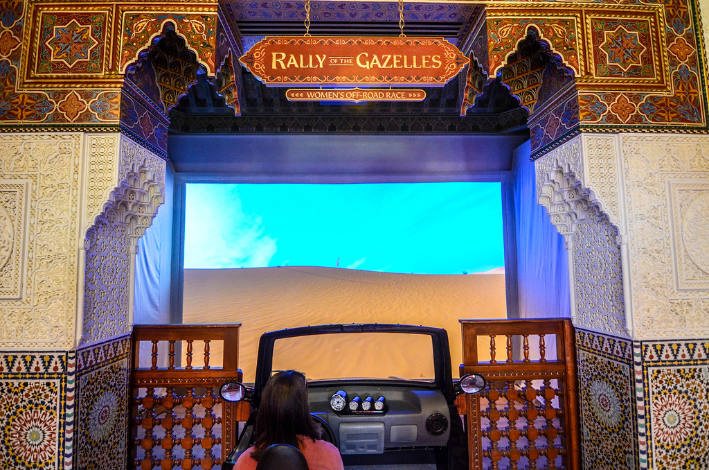 Rally of the Gazelles Morocco Pavilion Epcot