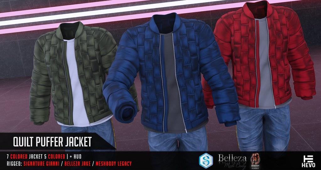 HEVO – Quilt Puffer Jacket