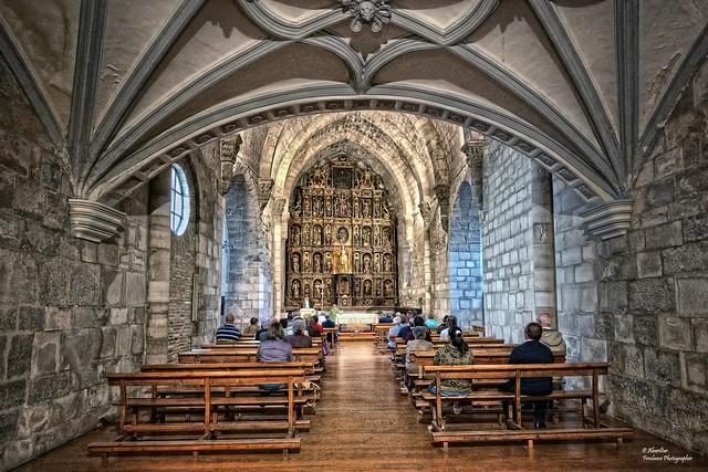 Iglesia Románica de la Magdalena (Interior). Tudela (Navarra)