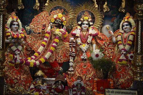ISKCON Ujjain Deity Darshan 03 Dec 2019