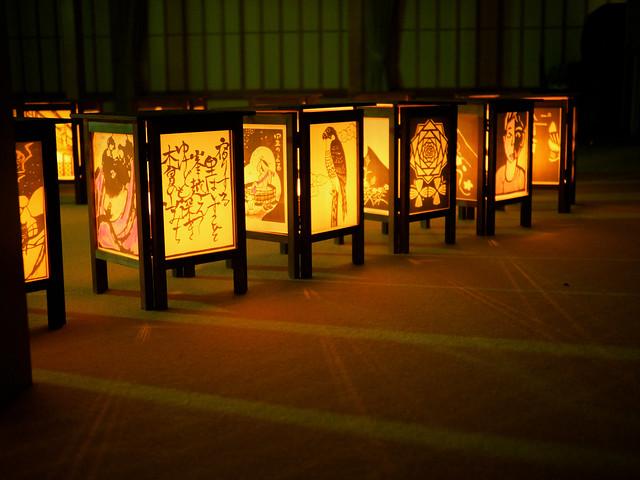 灯籠が灯る頃|When the lanterns are on 3
