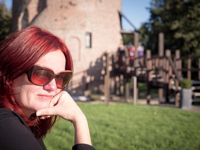 Jeannette, Lisse 2017: Enjoying the sun