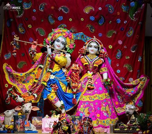 ISKCON Pune NVCC Deity Darshan 03 Dec 2019