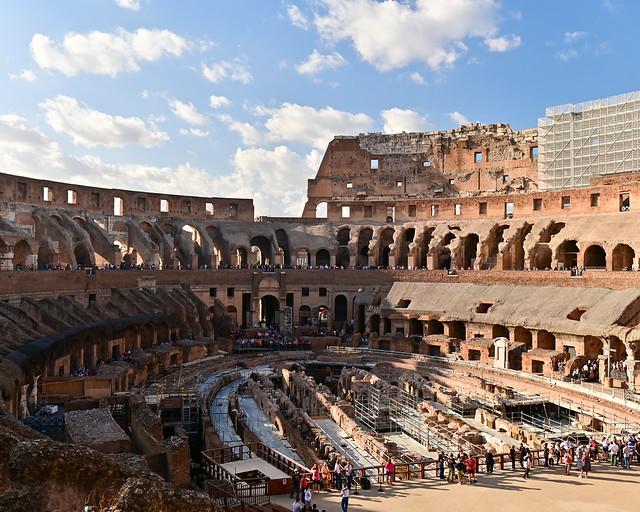 Mirador dentro del Coliseo