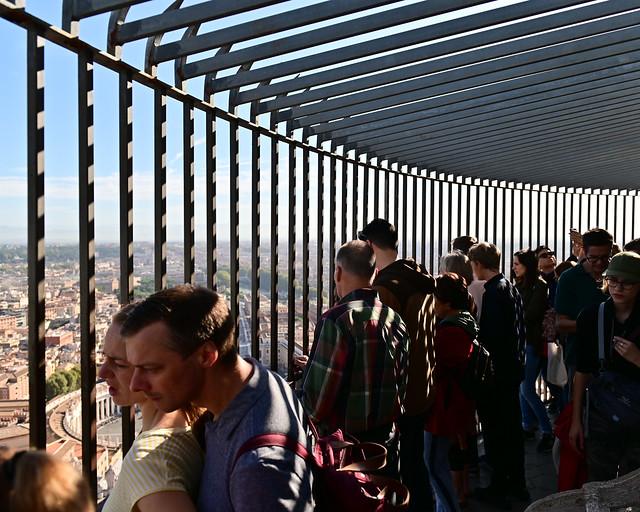 Mirador de la cúpula del Vaticano