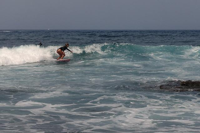 Playa de las Américas: surfing