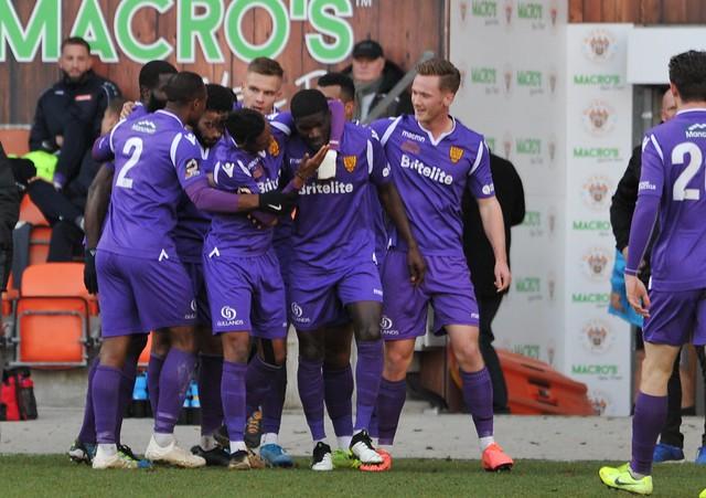FAC R2: Blackpool 3-1 Maidstone United