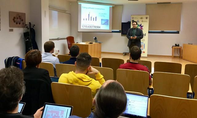 22_11_2019 Seminario eMadrid sobre «Juegos serios aplicados a la docencia en ingeniería de software» / UCM