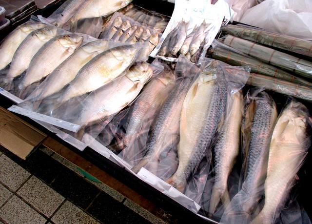 Tamu Muhibbah Miri ikan terubok masin