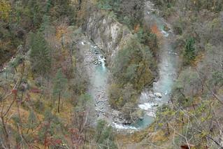 Bend @ Leysse river @ Saint-Jean-d'Arvey