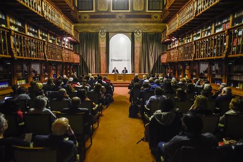 """DeustoForum. Federico Mayor Zaragoza: """"Educación, ciencia, conciencia"""""""