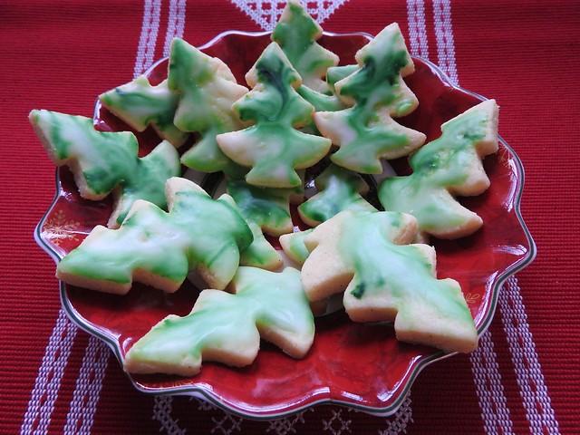 Homemade butter cookies,gluten free - Hausgemachte,glutenfreie Butterplätzchen
