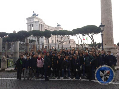 Uscita a Roma