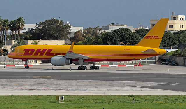 G-DHKR LMML 03-12-2019 DHL Air Boeing 757-223(PCF) CN 29426